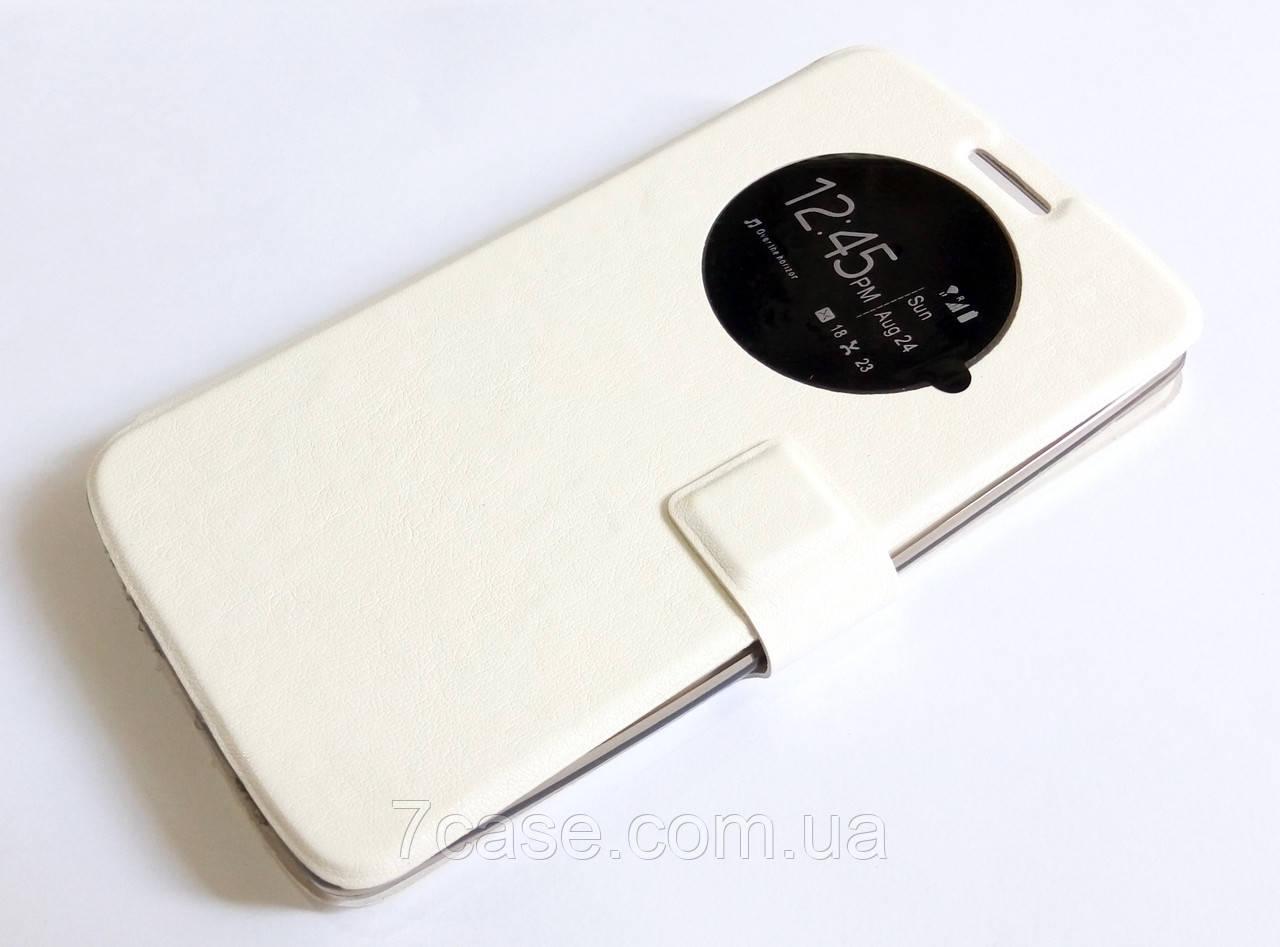 Чехол книжка с окошком momax для LG G3 d855 белый