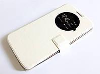 Чехол книжка с окошком momax для LG G3 d855 белый, фото 1