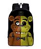 Рюкзак школьный городской FNAF 5 ночей с Фредди
