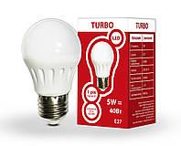 LED лампа G45 5Вт Е27 шар 4200K TURBO