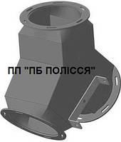 Клапан перекидной двухсторонний д.300 54° с мотор-редуктором