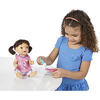 Кукла пупс чистим зубки брюнетка Baby Alive Brushy Brushy Baby Doll