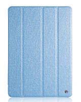 Чехол для Apple iPad Air 1 Hoco leather case Ice series голубой, фото 1