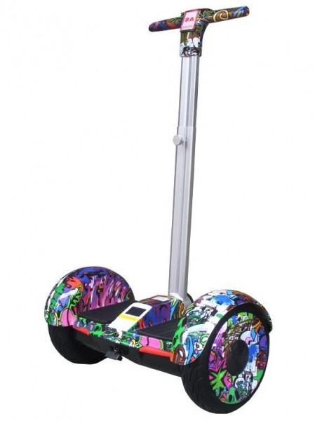 Гироскутер Джунгли с ручкой Smart Balance A8 колеса 10.5