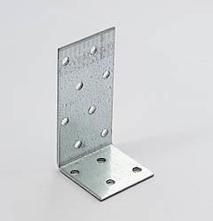 Уголок асимметричный 80х40х40 х 2,5 мм