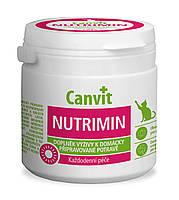 Витамины для кошек Canvit (Канвит) Nutrimin for cats общеукрепляющий комплекс витаминов, 150 г