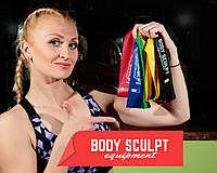 Резина для фитнеса, петли Body Sculpt + мешочек