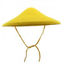 Шляпа Грибок желтый