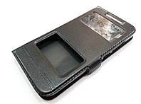 Чохол книжка з віконцями momax для HTC Desire 616 dual sim чорний, фото 1