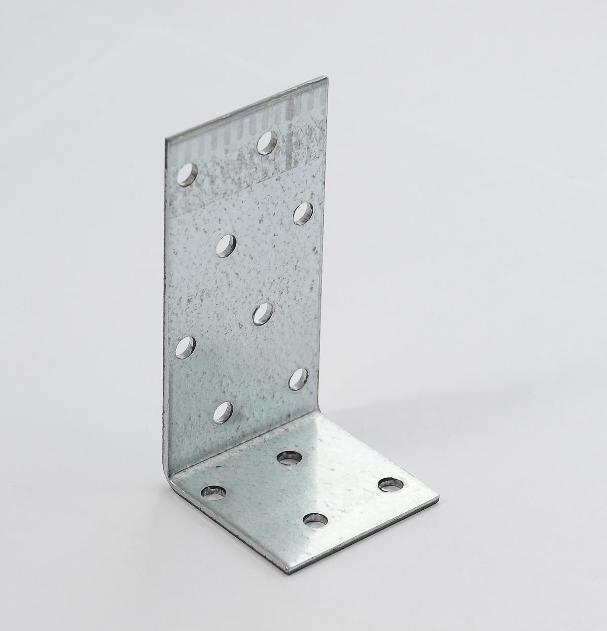 Уголок асимметричный 80х40х60 х 2,5 мм