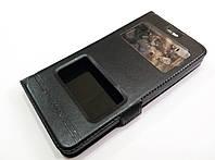 Чехол книжка с окошками momax для Lenovo Vibe C A2020 / a2020a40 черный