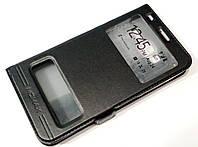 Чехол книжка с окошками momax для Lenovo A916 черный, фото 1