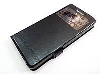 Чехол книжка с окошком momax для Lenovo Vibe S1 Lite черный, фото 1