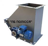 Клапан перекидной двухсторонний  300х300 54° с электроприводом