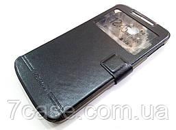 Чехол книжка с окошками momax для Lenovo S920 черный