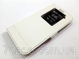 Чехол книжка с окошком momax для LG G2 белый