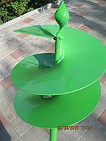 Бур садовый шнековый 200мм улучшенный