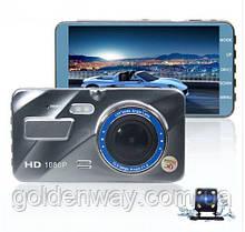 Видеорегистратор FullHd на 2 камеры BlackBox A10