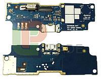 Шлейф для Asus ZenFone Go (ZB552KL) 2017, с разъемом зарядки, с виброзвонком, с микрофоном, плата зарядки