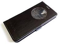 Чохол книжка з віконцем momax для LG X View K500DS чорний, фото 1