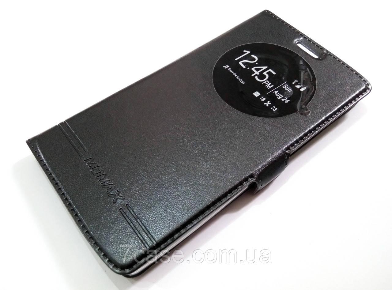 Чохол книжка з віконцем momax для LG G4s / G4 Beat h734 / h735 чорний