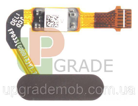 Шлейф Huawei Mate 10 (ALP-L09/ALP-L29)/Honor V10/P20/P20 Pro/Nova 2s, з сканером відбитка пальця, коричневого