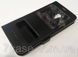Чехол книжка с окошками momax для Meizu M1 Note black