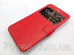 Чехол книжка с окошком momax для Meizu MX4 Pro красный