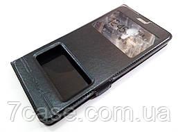 Чехол книжка с окошками momax для Meizu M3 Max черный