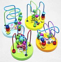 """Развивающая игрушка из дерева """"Пальчиковый лабиринт"""""""