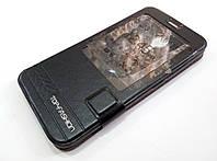 Чохол книжка з віконцем momax для Meizu MX5 чорний