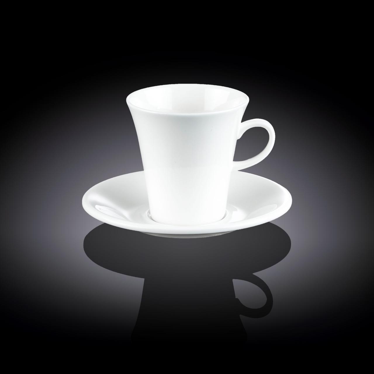 Чашка чайная&блюдце Wilmax 300 мл WL-993110