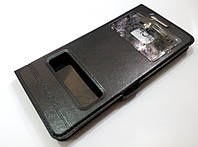 Чехол книжка с окошками для Samsung Galaxy Note 7 n930 black, фото 1