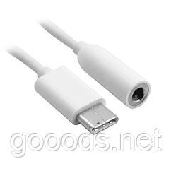 Кабель переходник с USB Type-C на mini jack 3.5 мм