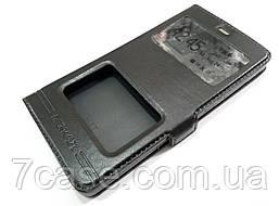 Чехол книжка с окошками momax для Xiaomi Mi 4i / Mi 4c черный