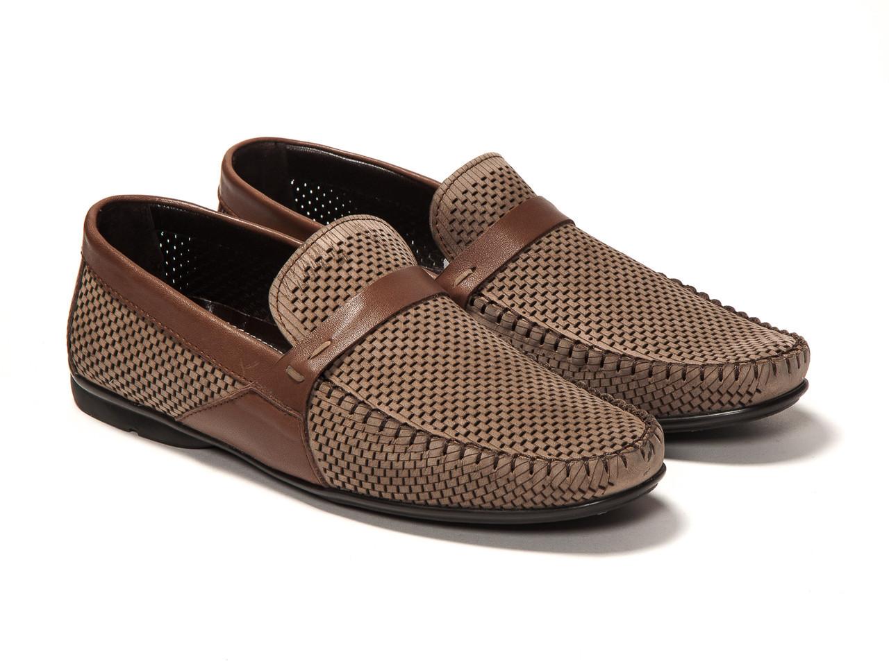 Мокасины Etor 10033-818-755-96-008 42 коричневые