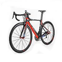 Велосипед шоссейный TWITTER  T10 Aero черно-красный