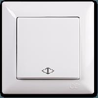 Выключатель перекрестный(реверсивный) Gunsan Visage, VS 28 11 135, белый