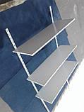 Навесные полки для обуви б/у, настенный стеллаж для обуви б у, полки книжные б у., фото 4