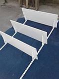 Навесные полки для обуви б/у, настенный стеллаж для обуви б у, полки книжные б у., фото 2