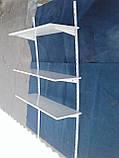 Навесные полки для обуви б/у, настенный стеллаж для обуви б у, полки книжные б у., фото 3