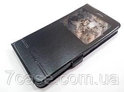 Чехол книжка с окошком momax для Lenovo Vibe P2 p2a42 черный