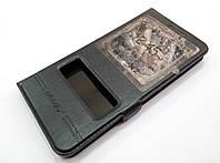 Чехол книжка с окошками momax для Meizu U20 черный, фото 1
