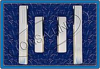 Citroen C-5 Накладки на дверные пороги (нерж.) 4 шт.