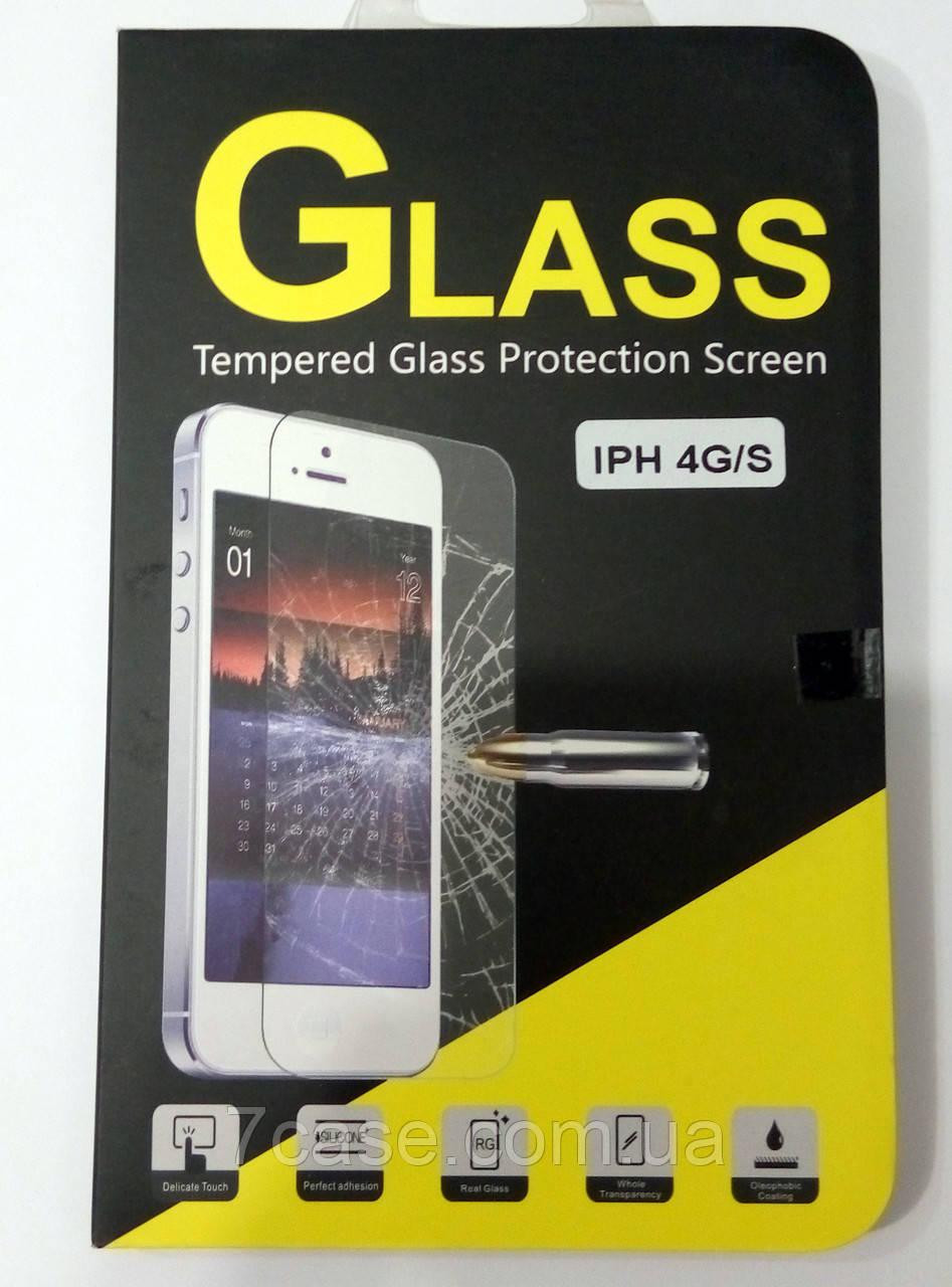 Защитное стекло Tempered Glass iPhone 4 / 4s