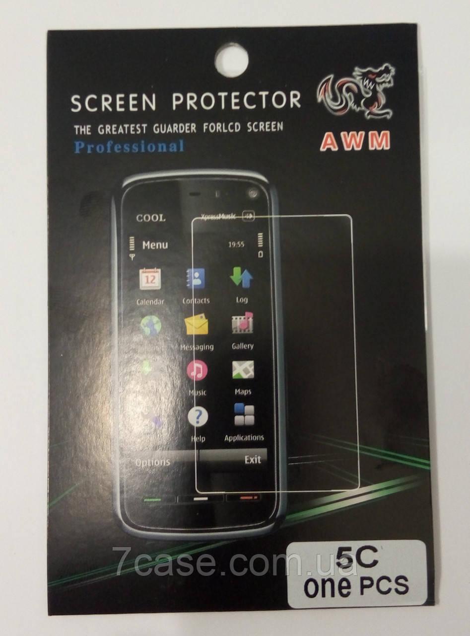 Пленка защитная для экрана iPhone 5 / 5s / SE