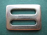 Нержавеющая пряжка для плоских строп, шириной 25 мм, фото 2