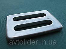 Нержавеющая пряжка для плоских строп, шириной 25 мм