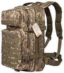 Тактический военный рюкзак Hinterhölt Jäger (Хинтерхёльт Ягер) 40 л Камуфляж (SUN80089)
