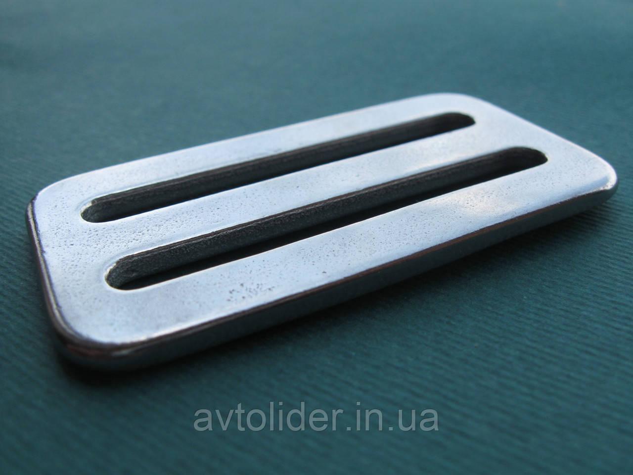 Нержавіюча пряжка для плоских строп, шириною 50 мм